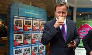 David Cameron Visits Tory Target Seats In The North