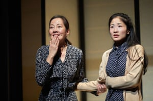 Rosalind Chao and Kae Alexander in The Great Wave by Francis Turnly at the National Theatre.