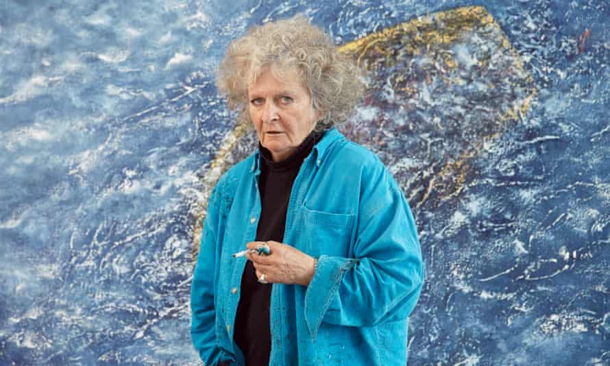 'It was a miracle I was born at all because, by that time, my father preferred gentlemen': Maggi Hambling in her studio.