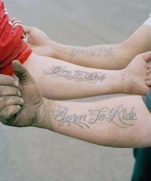 Born To Ride Tattoos