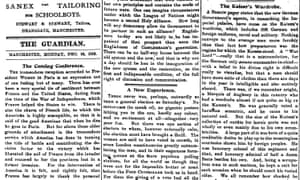 Manchester Guardian, 16 December 1918.