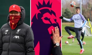 Jürgen Klopp (left) has made it clear football is not a priority at the moment, while Manchester City's João Cancelo (right) is finding looking after his young child a good distraction.