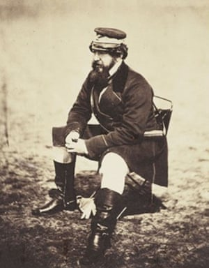 William Howard Russell in a photo by Roger Fenton.