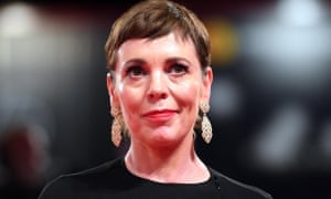 Olivia Colman at the premiere of The Favourite