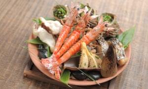 One of the elegant dishes on Ryokan Kurashiki's nine-course menu