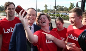 Bill Shorten at a rally of party faithful at the University of Western Sydney in 2016