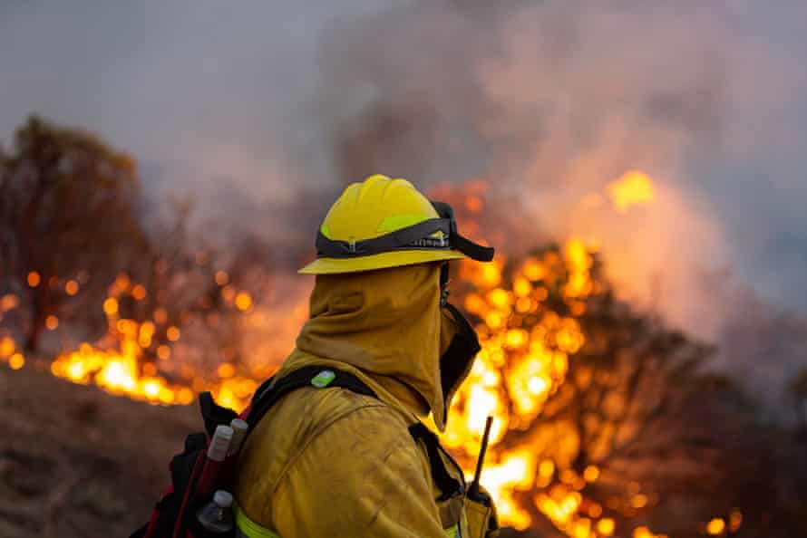 The Caldor fire is just one of a dozen large wildfires raging across California.