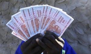 Five billion Zimbabwean dollars.