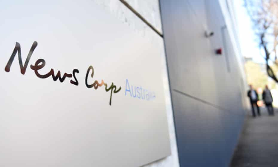 News Corp Australia's office in Sydney