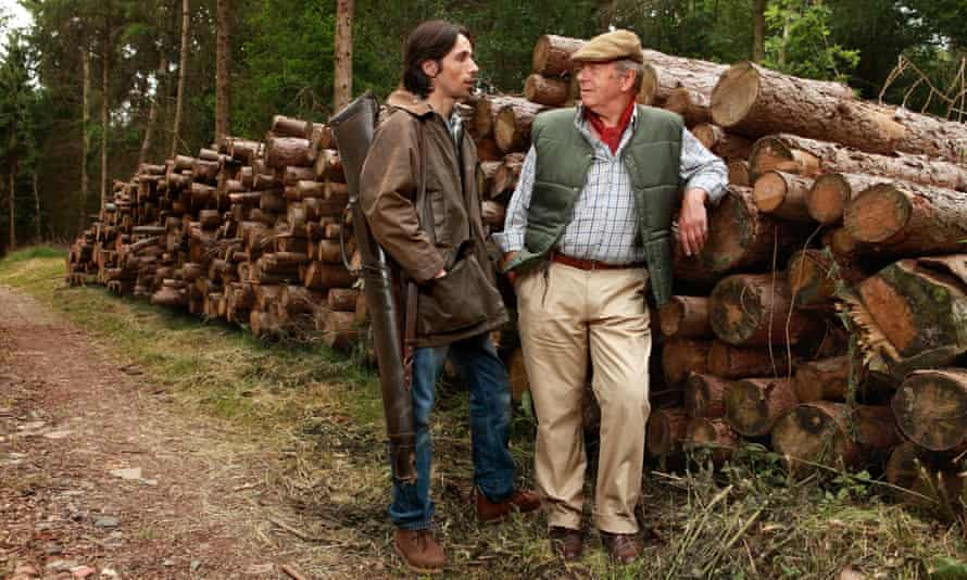 The Archers' William Grundy (played by Philip Molloy) and Brian Aldridge (Charles Collingwood).