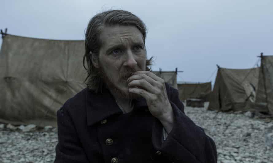 Man on the edge ... Adam Nagaitis as Cornelius Hickey in AMC's The Terror.