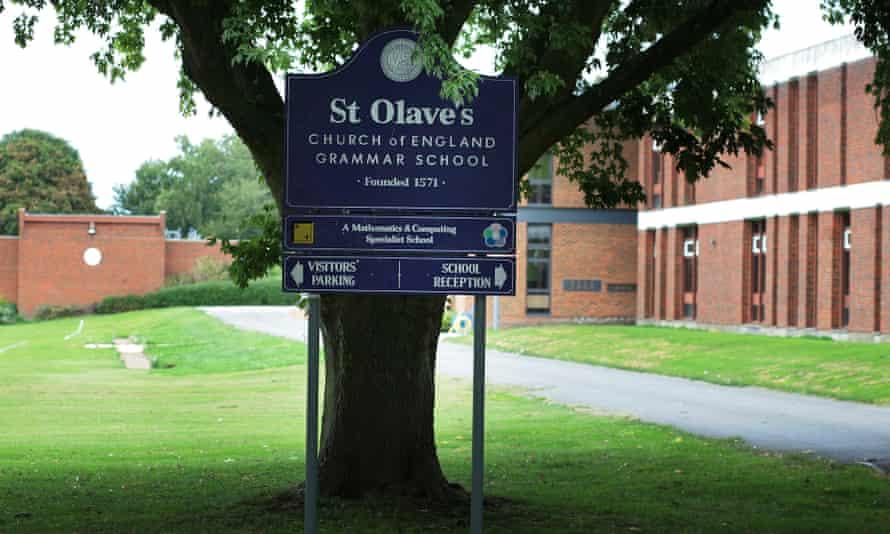 St Olave's Grammar School. Orpington, Kent.
