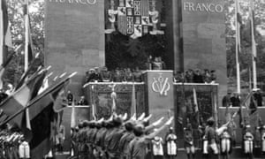 Parade of Franco's victorious troops In Madrid, May 1939.
