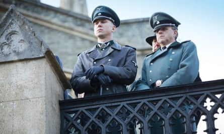 Stealing the show … Lars Eidinger as the sinister officer Huth in SS-GB.