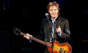 Hey Grandude ... McCartney performing in the US.