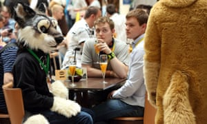 'Everyone's a little bit furry'. Fans at the Eurofurence 2014 conference in Berlin, Germany