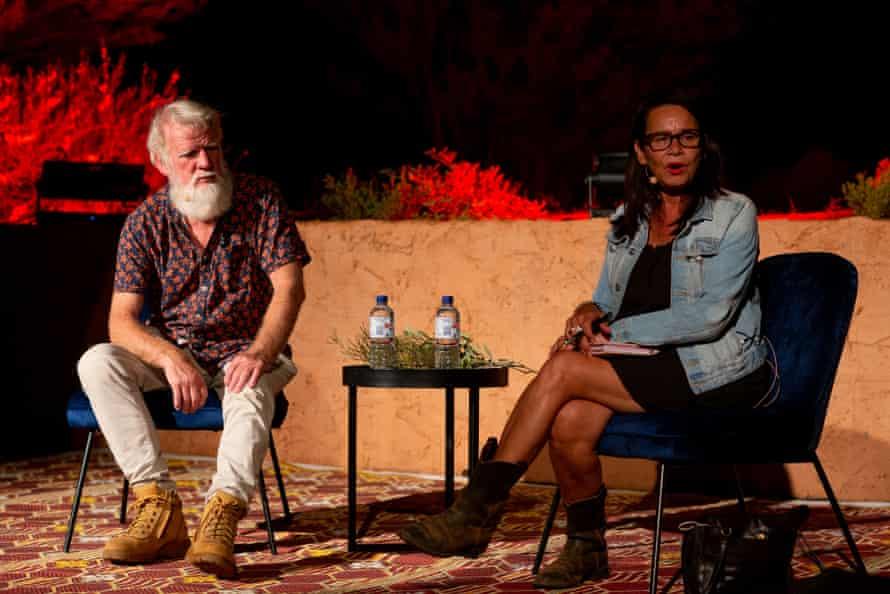 روز شنبه 10 آوریل ، بروس پاسکو و رودا رابرتز در گفتگو در مرکز جشنواره پارتجیما.