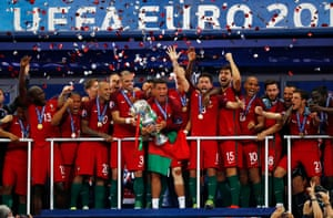 Euro 2016 champions.