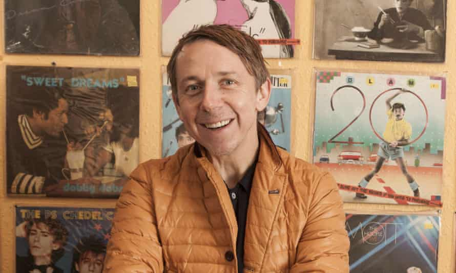 Gilles Peterson at Lucky 7 Record Shop, London.