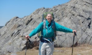 Judy Perkins says her condition had deteriorated a lot and she was planning her death. But since the treatment she has been on a 40 mile hike.
