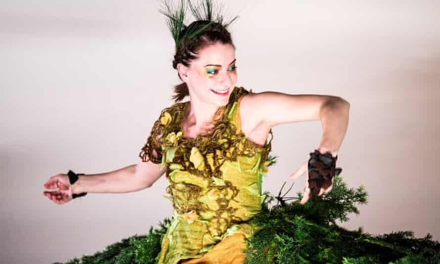 Rumbustious energy … Barrowland Ballet's Poggle.