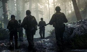 On the march again: Call of Duty WW2.