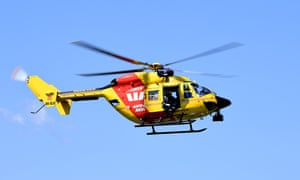 A Life Saver Rescue Helicopter