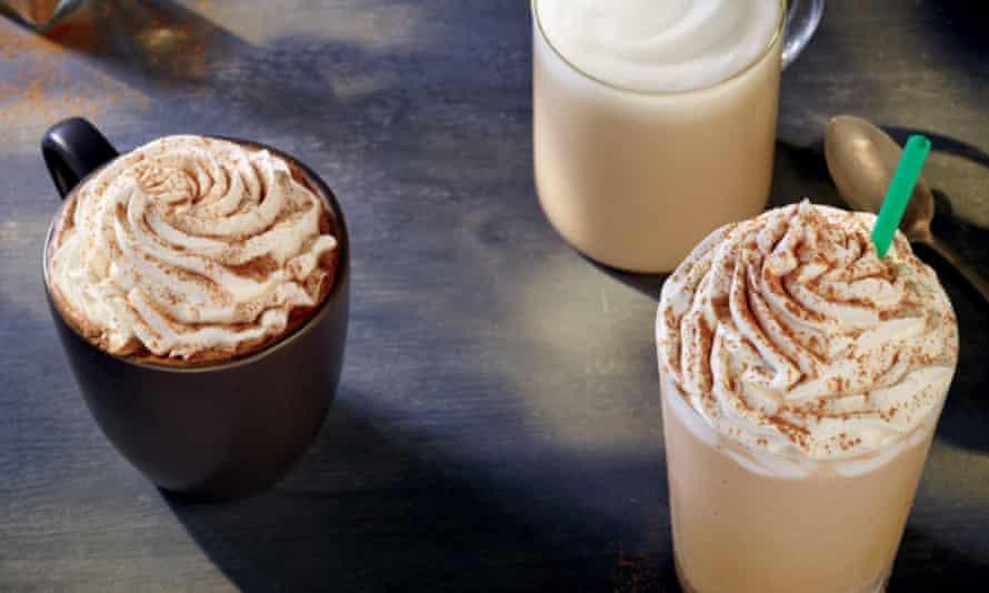 The pumpkin spice latte from Starbucks.