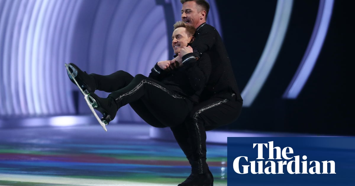 Dancing on Ice's first same-sex partnership is a milestone we should celebrate