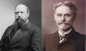Othniel Charles Marsh (left) and Edward Drinker Cope (right). Their bitter rivalry in the 1800s over fossils, known as the 'Bones Wars', may be the root of many stereotypes.