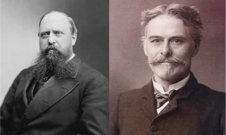 Othniel Charles Marsh (left) and Edward Drinker Cope (right). Palaeontologists from the late 1800s, their bitter rivalry was known as the 'Bones Wars'