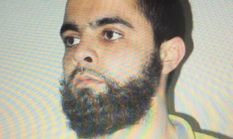 Undated picture of Radouane Lakdim, named by authorities as the France supermarket gunman.