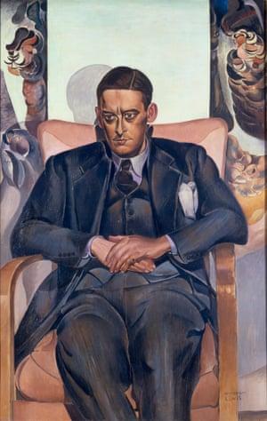 TS Eliot (1938) by Wyndham Lewis
