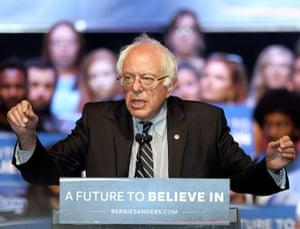 Bernie Sanders speaks