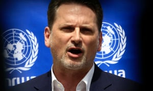 Pierre Krahenbuhl, commissioner-general of the United Nations Relief and Works Agency for Palestine.