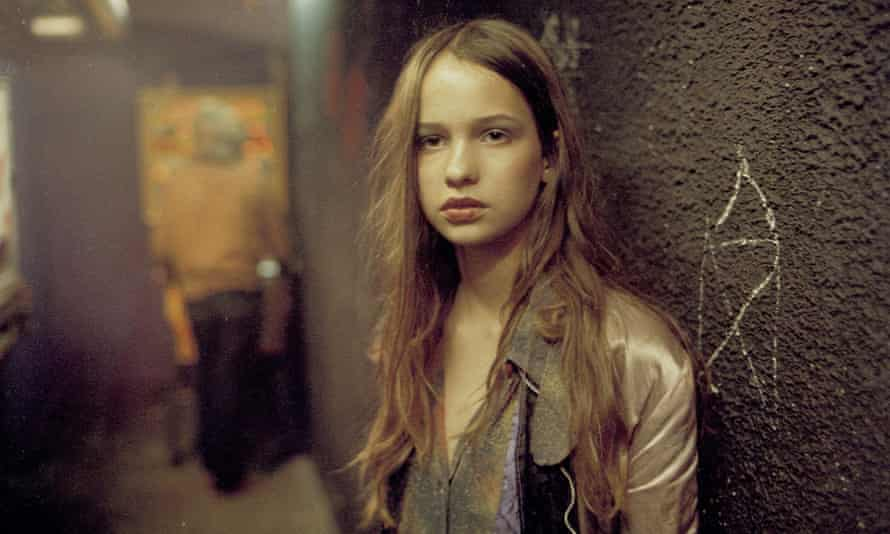 'They put makeup on and dressed me up like a junkie' … Natja Brunckhorst in Christiane F, released 40 years ago this month.