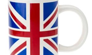 Union Jack Mug.. Image shot 2013. Exact date unknown.D2X2MM Union Jack Mug.. Image shot 2013. Exact date unknown.