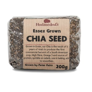 Essex grown Chia seeds by Peter Fairs for Hodmedod's