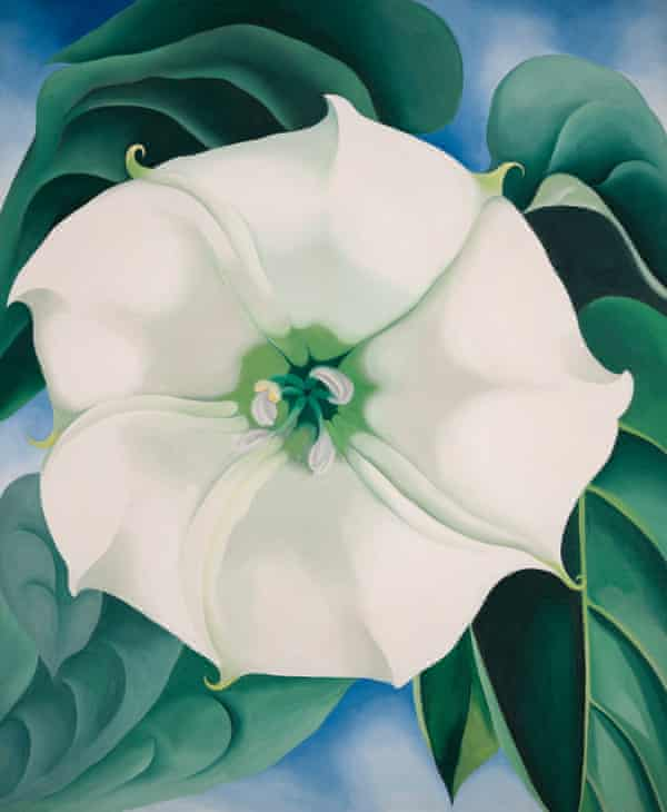 O'Keeffe's Jimson Weed/White Flower No. 1, 1932.