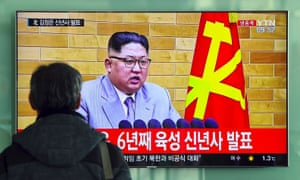 Kim Jong-un's new year speech increased tensions about who had the biggest nuclear button.