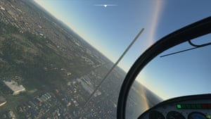 Microsoft Flight Simulator 2020's 212-storey tower in Melbourne's northern suburbs