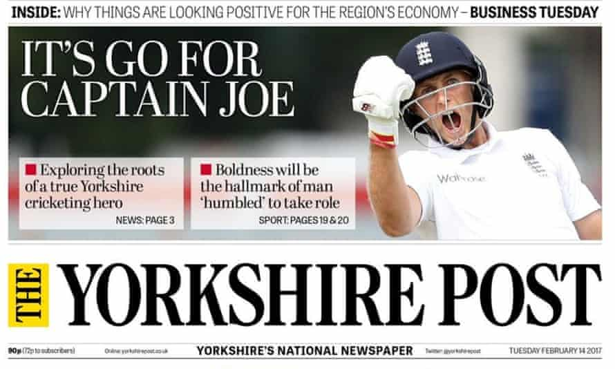 Yorkshire Post front page