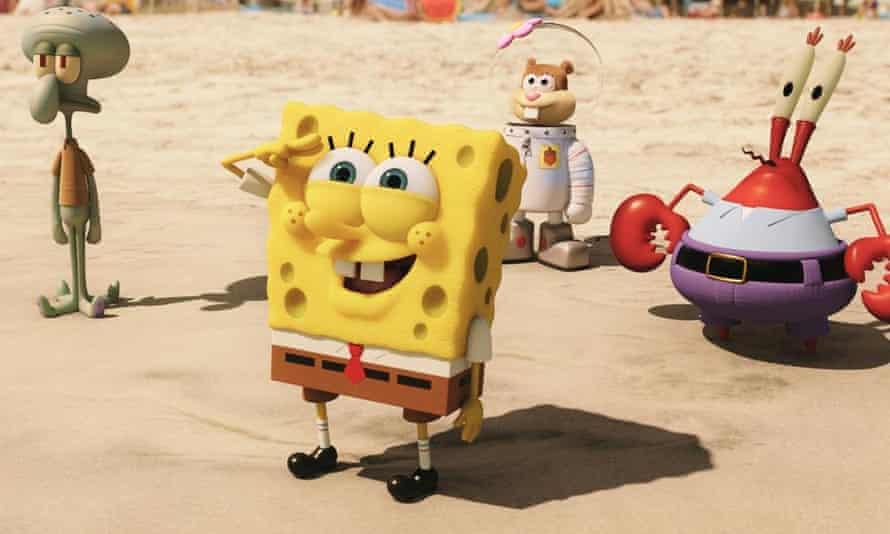 Scene from The Spongebob Movie: Sponge Out of Water