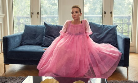 The Molly Goddard billowing bubblegum pink gown was a bold choice.