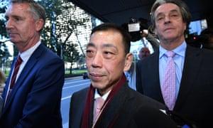 Former Labor MP Ernest Wong