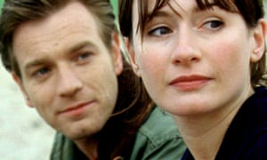 Ewan McGregor and Emily Mortimer in Young Adam, 2003