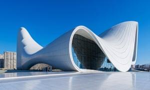 Zaha Hadid's Heydar Aliyev Center in Baku, Azerbaijan