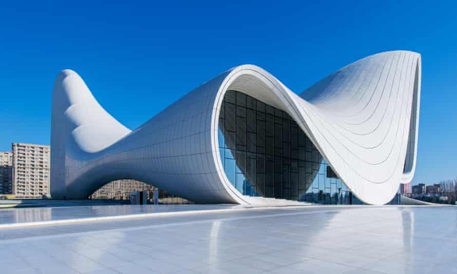 The Heydar Aliyev Centre in Baku.