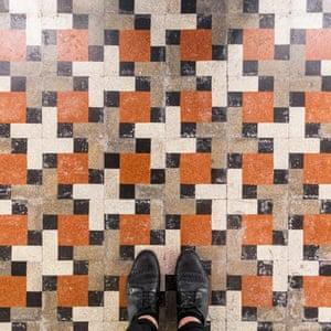 Murano Venetian floor photographed by Sebastian Erras