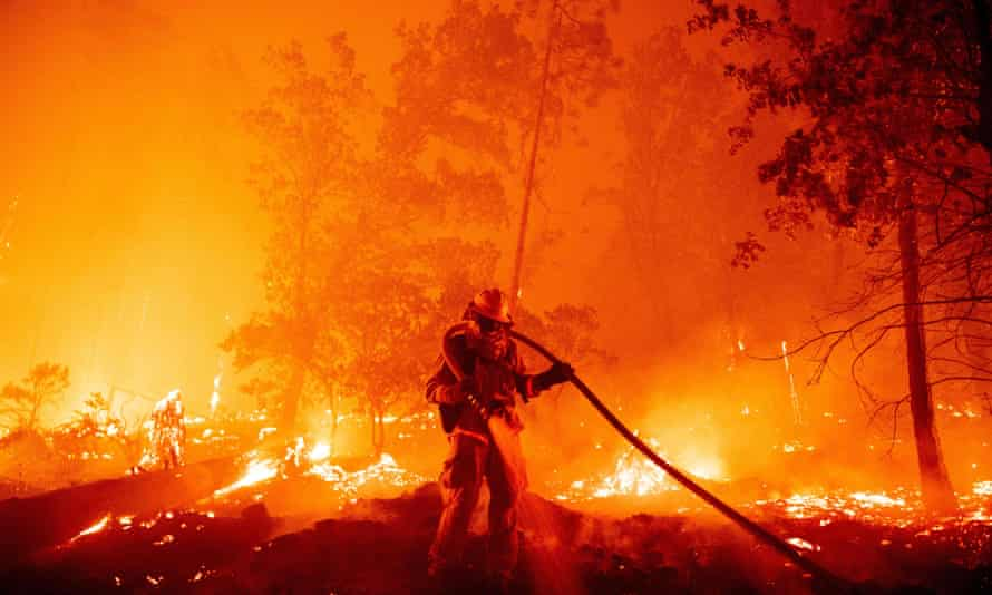 The largest wildfires ever recorded burned in the US.